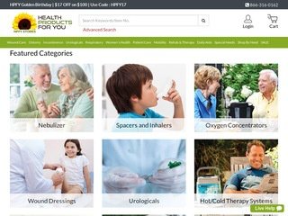 Go to Health Products For You website.