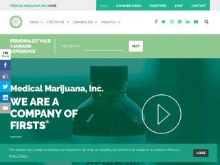 Go to medicalmarijuanainc.com website.