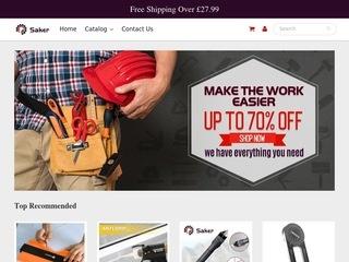 Go to Saker UK website.