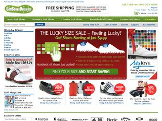 Go to golfshoesonly.com website.