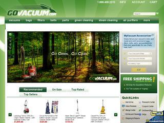 Go to govacuum.com website.